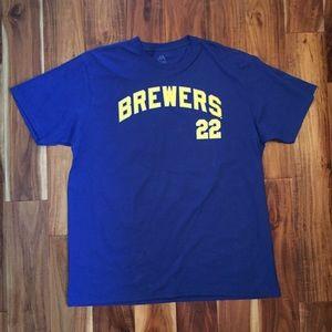 Brewers Yelich 22 T-Shirt (2XL)